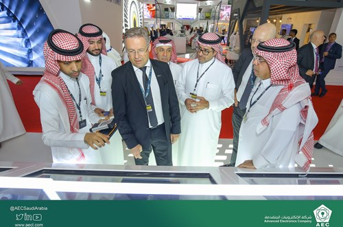 AEC's VIP visits for the third day at Dubai Airshow